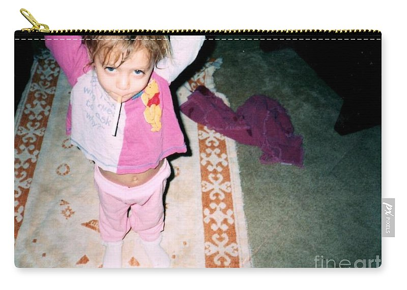 Carry-all Pouch featuring the photograph Got A Light by Kelly Awad