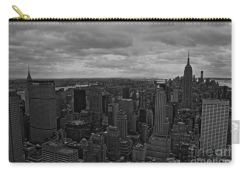 New York City Carry-all Pouch featuring the photograph Gotham by David Rucker