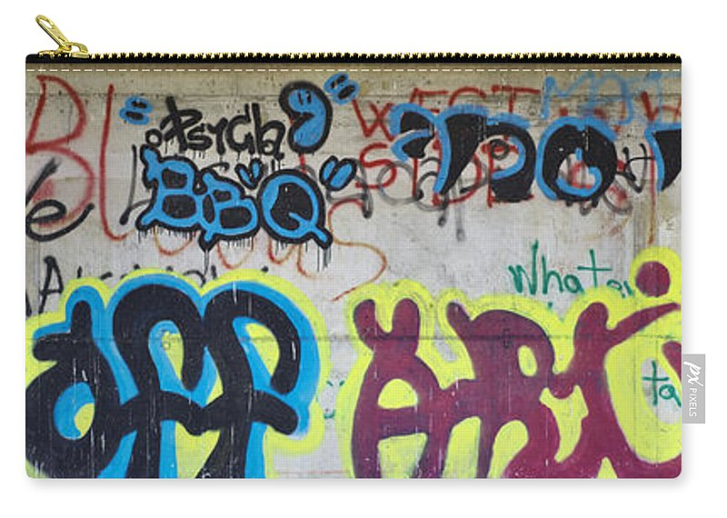 Urban Carry-all Pouch featuring the photograph Graffiti by Ivan Slosar