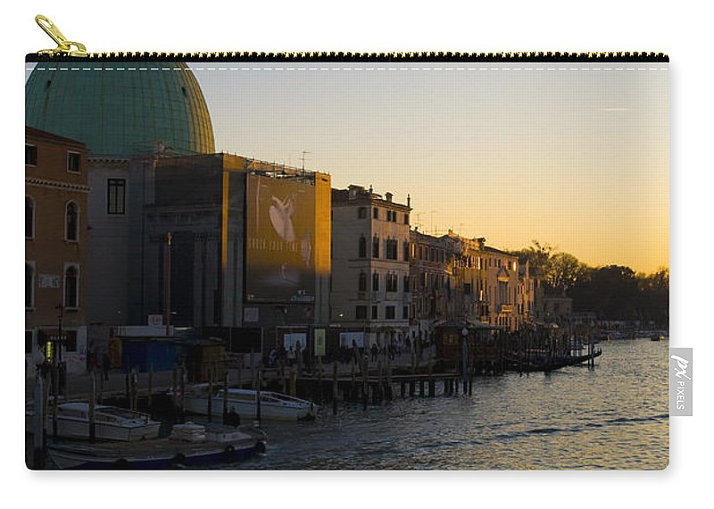 Travel Carry-all Pouch featuring the photograph Grand Canal Venice by Jason O Watson