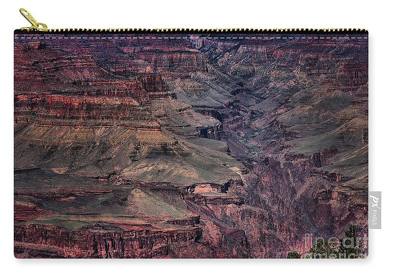 Grand Canyon Carry-all Pouch featuring the photograph Grand Canyon 4 by Robert McCubbin