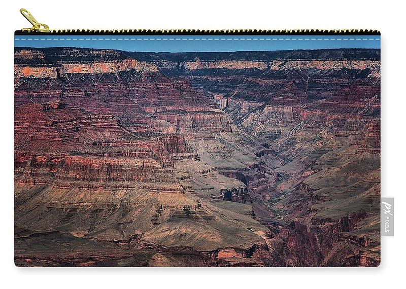 Grand Canyon Carry-all Pouch featuring the photograph Grand Canyon 5 by Robert McCubbin
