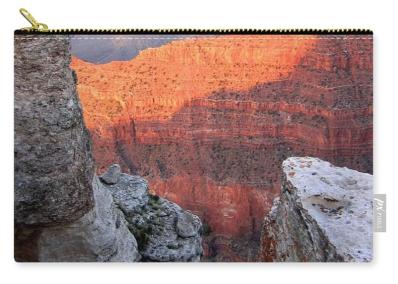 Grand Canyon 85 Carry-all Pouch featuring the photograph Grand Canyon 85 by Will Borden