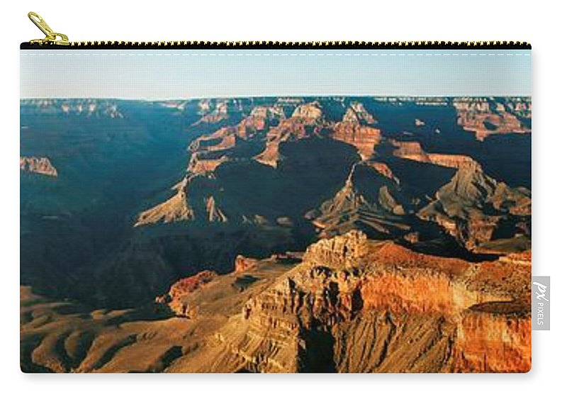 Grand Canyon Carry-all Pouch featuring the photograph Grand Canyon At Sunset by Yousif Hadaya