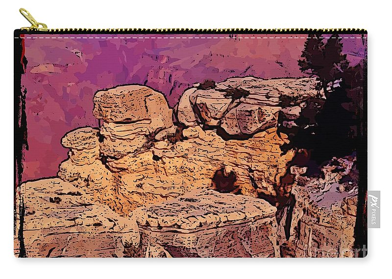 Grand Canyon Carry-all Pouch featuring the photograph Grand Canyon by John Malone