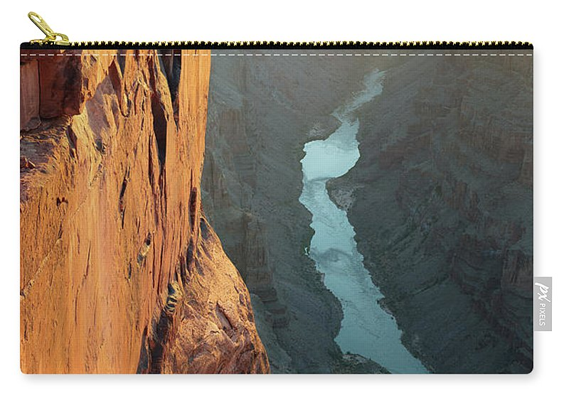Scenics Carry-all Pouch featuring the photograph Grand Canyon Toroweap Point Morning by Kjschoen