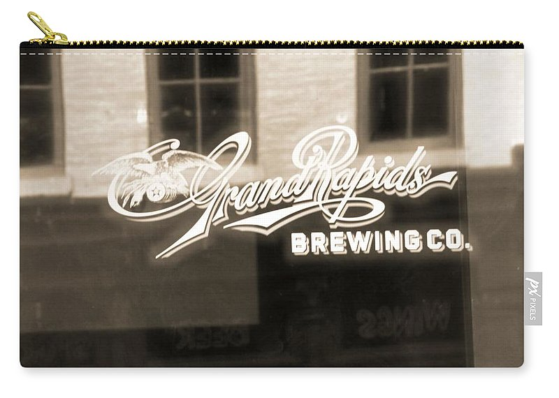 Grand Rapids Brewing Co Carry-all Pouch featuring the photograph Grand Rapids Brewing Co by Dan Sproul