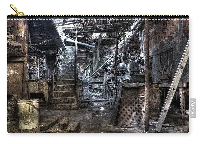 Grandmother's House Carry-all Pouch featuring the photograph Grandmother's House by Marco Oliveira