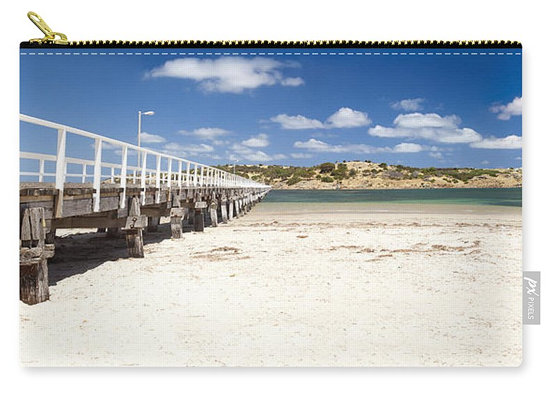 South Australia Carry-all Pouch featuring the photograph Granite Island by Tim Hester
