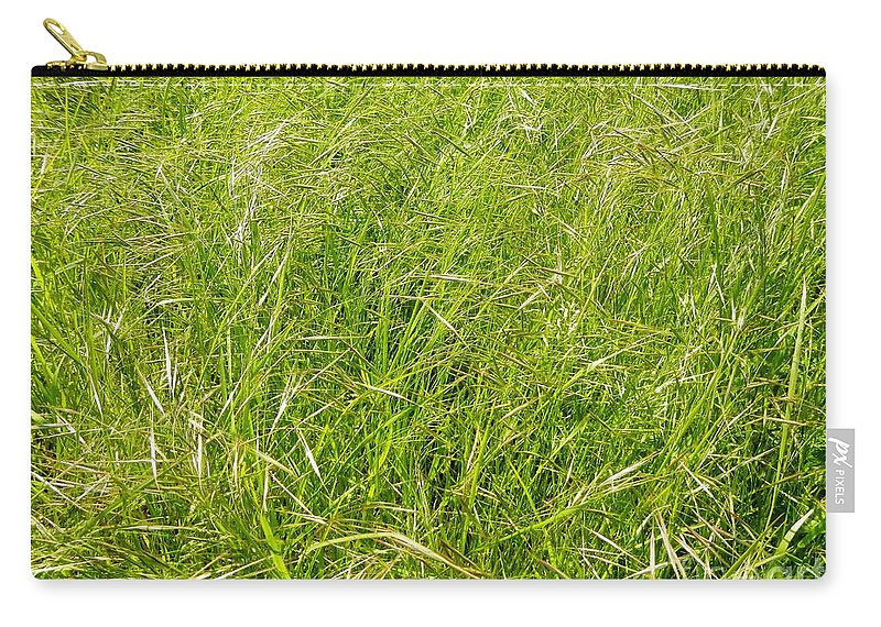 Grass Carry-all Pouch featuring the photograph Grasses by Loreta Mickiene