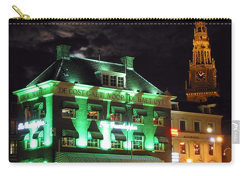 3scape Carry-all Pouch featuring the photograph Grasshopper Bar by Adam Romanowicz