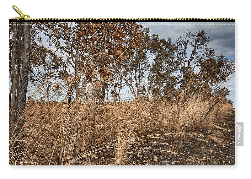 Grassroots Carry-all Pouch featuring the photograph Grassroots by Douglas Barnard