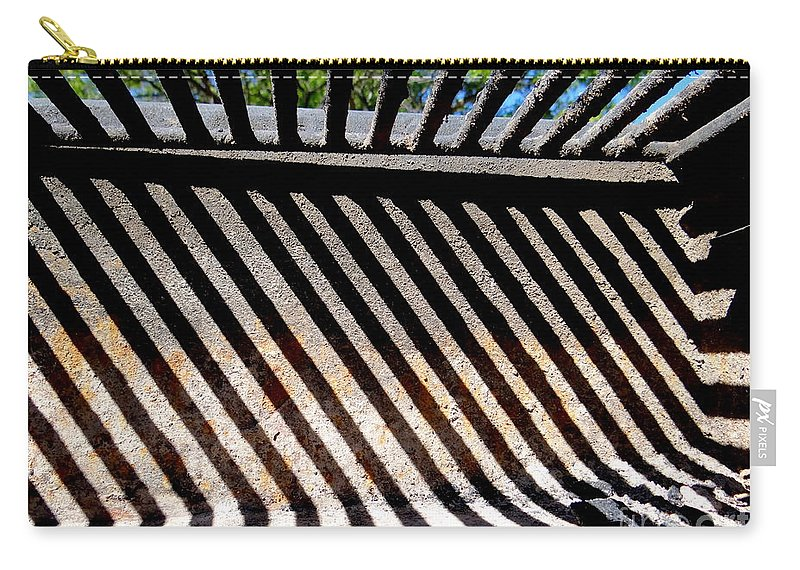 Abstract Carry-all Pouch featuring the photograph Grate Designs by Ed Weidman