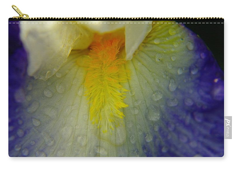 Water Drops Carry-all Pouch featuring the photograph Great Beauty In Tiny Places by Jeff Swan