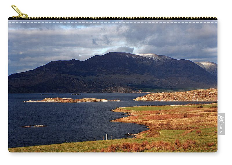 Ireland Carry-all Pouch featuring the photograph Lakes Of Ireland, Waterville, County Kerry by Aidan Moran