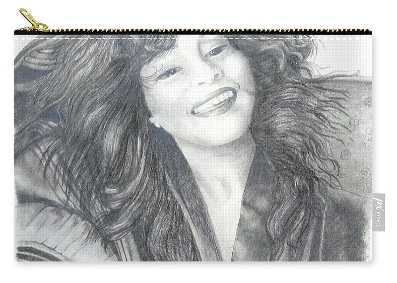 Celebrity Prints Carry-all Pouch featuring the painting Great Morning by Joette Snyder