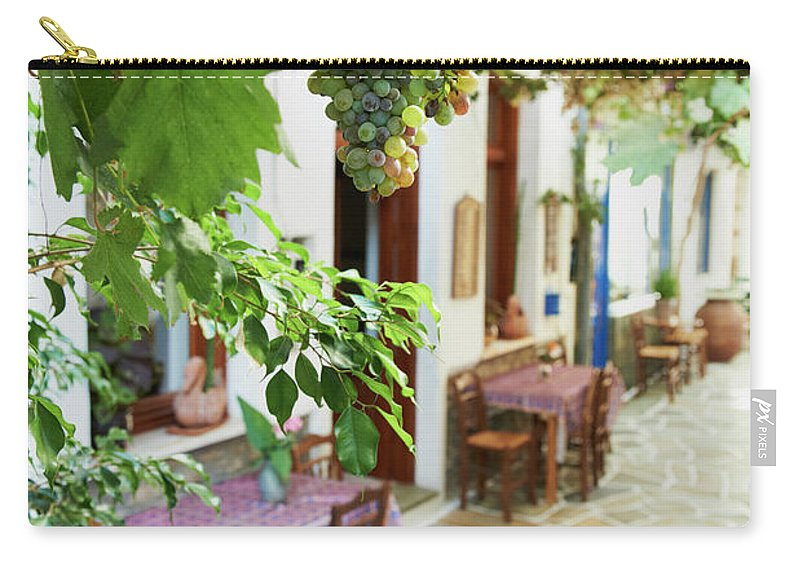 Tranquility Carry-all Pouch featuring the photograph Greece, Cyclades Islands, Kythnos by Tuul & Bruno Morandi