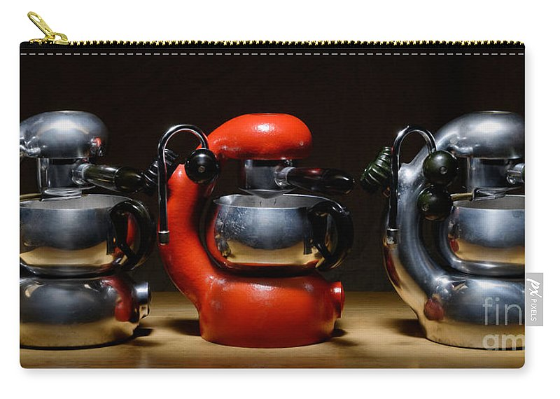 Atomic Carry-all Pouch featuring the photograph Green And Orange Atomic 3 by Frank Kletschkus