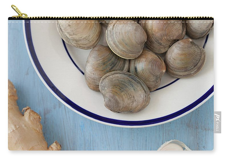 Newtown Carry-all Pouch featuring the photograph Green Curry, Coconut, Garlic & Ginger by Yelena Strokin
