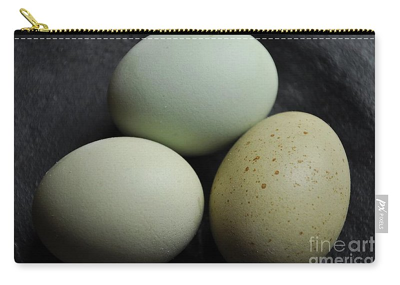 Eggs Carry-all Pouch featuring the photograph Green Eggs by Cheryl Baxter