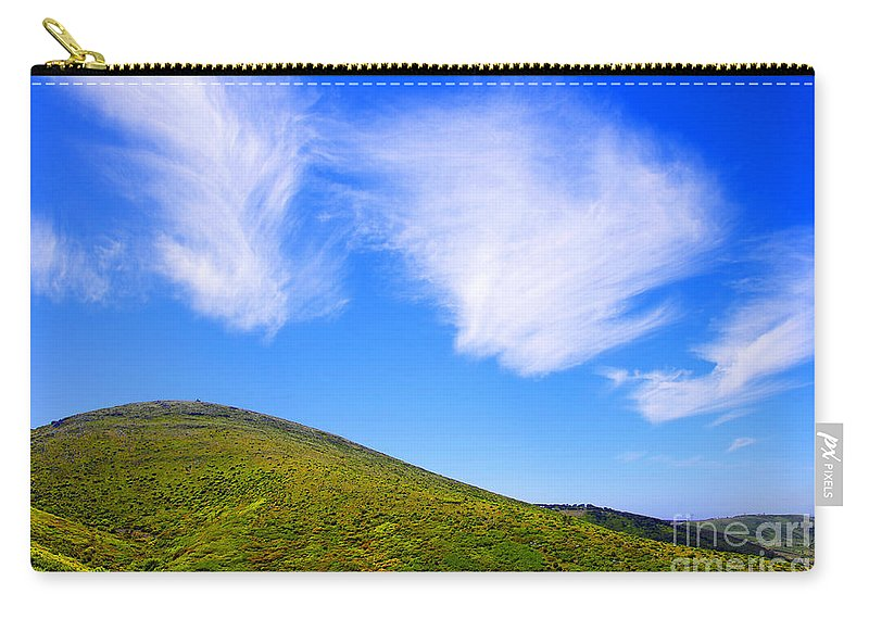 Background Carry-all Pouch featuring the photograph Green Hills by Carlos Caetano