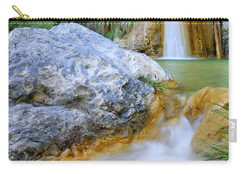 Outdoors Carry-all Pouch featuring the photograph Green River Waterfalls by Guido Montanes Castillo