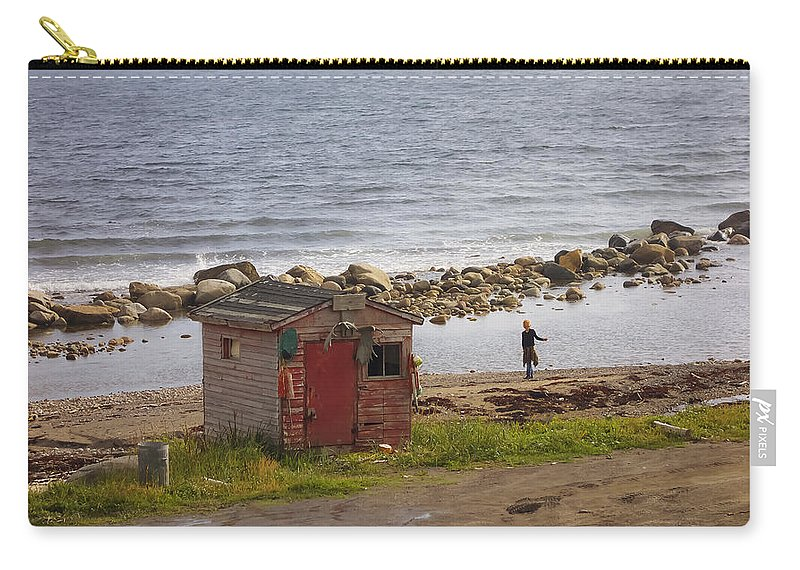 Newfoundland Carry-all Pouch featuring the photograph Green's Point Dancer by David Stone