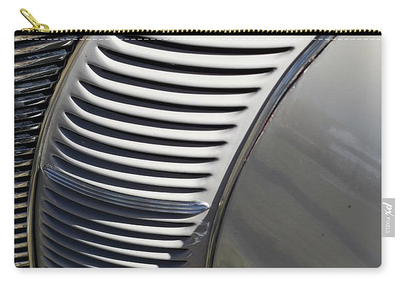 Automobile Carry-all Pouch featuring the photograph Grill Work by Joe Kozlowski
