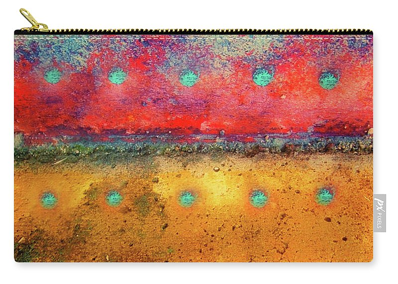 Texture Carry-all Pouch featuring the photograph Grounded by Tara Turner