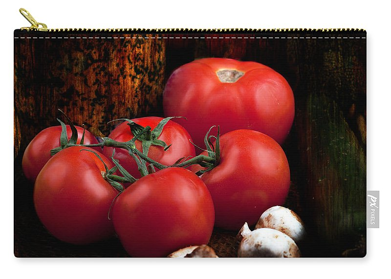 Agriculture Carry-all Pouch featuring the photograph Group Of Vegetables by Gunter Nezhoda