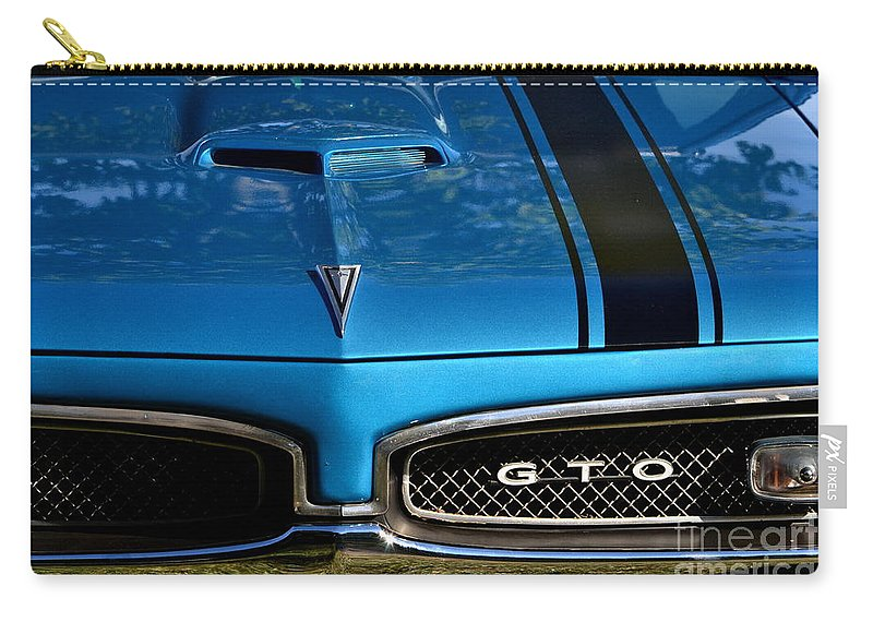 Carry-all Pouch featuring the photograph Gto In Blue by Dean Ferreira