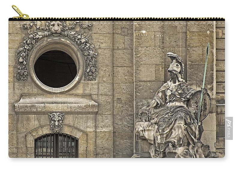 Army Museum Of France Carry-all Pouch featuring the photograph Guardians At The Gate - 2 by Hany J