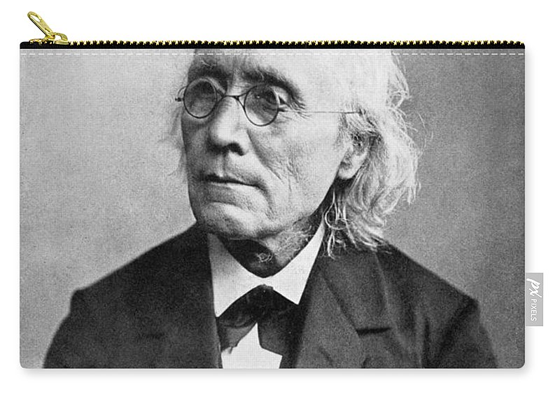 19th Century Carry-all Pouch featuring the photograph Gustav Theodor Fechner by Granger