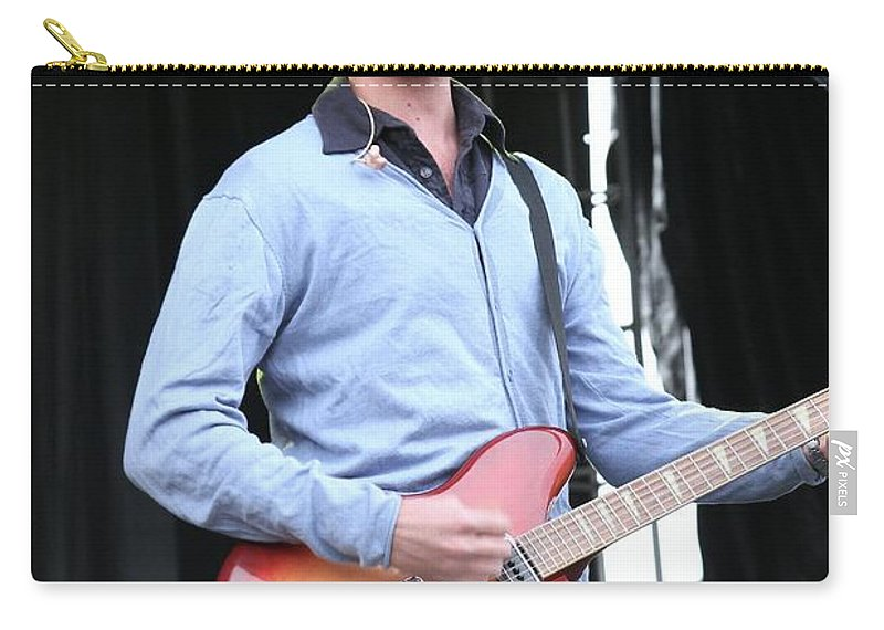 Singers Carry-all Pouch featuring the photograph Guster by Concert Photos