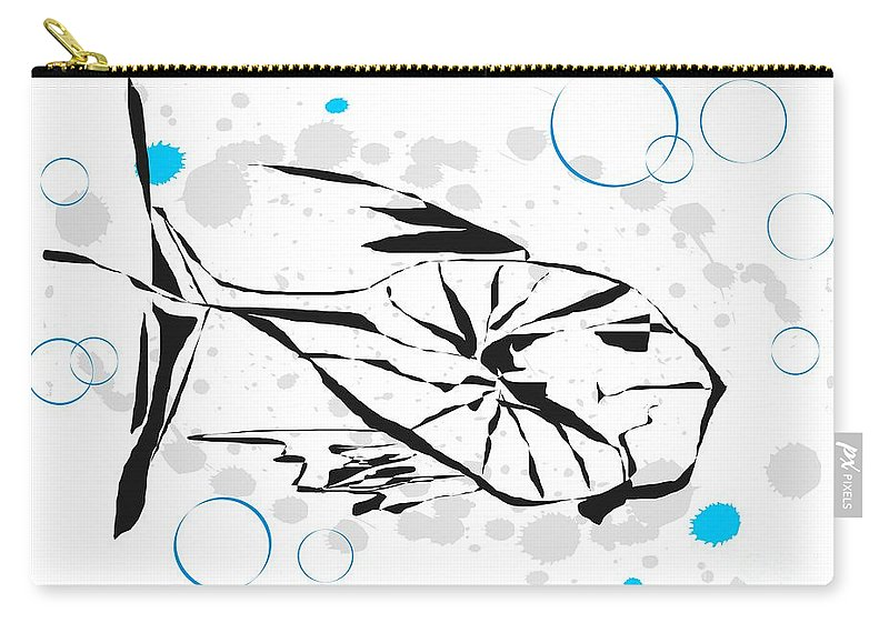 Graphics Carry-all Pouch featuring the digital art Gv084 by Marek Lutek