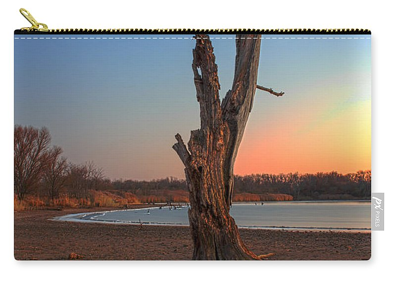 Ice Carry-all Pouch featuring the photograph Habitat by Thomas Sellberg