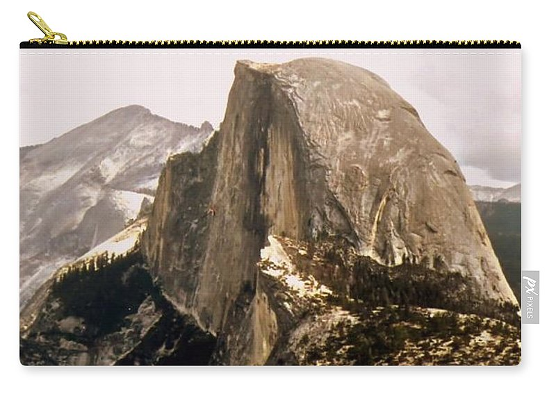 Half Carry-all Pouch featuring the photograph Half Dome by Kathleen Struckle