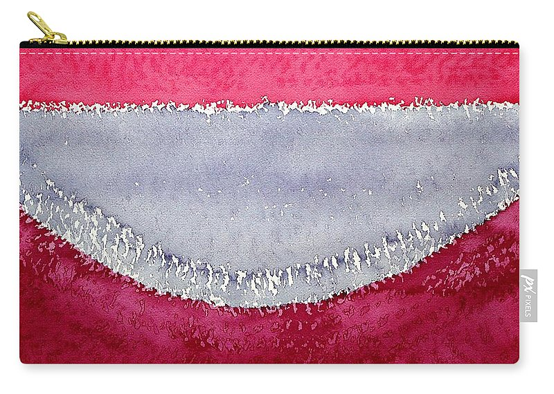 Half Moon Bay Carry-all Pouch featuring the painting Half Moon Bay Original Painting by Sol Luckman