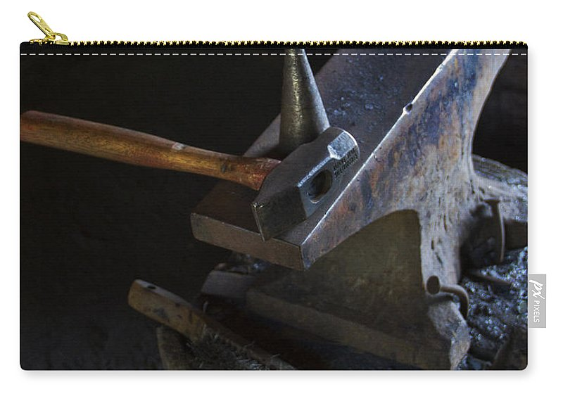 Anvil Carry-all Pouch featuring the photograph Hammer Time by Guy Shultz