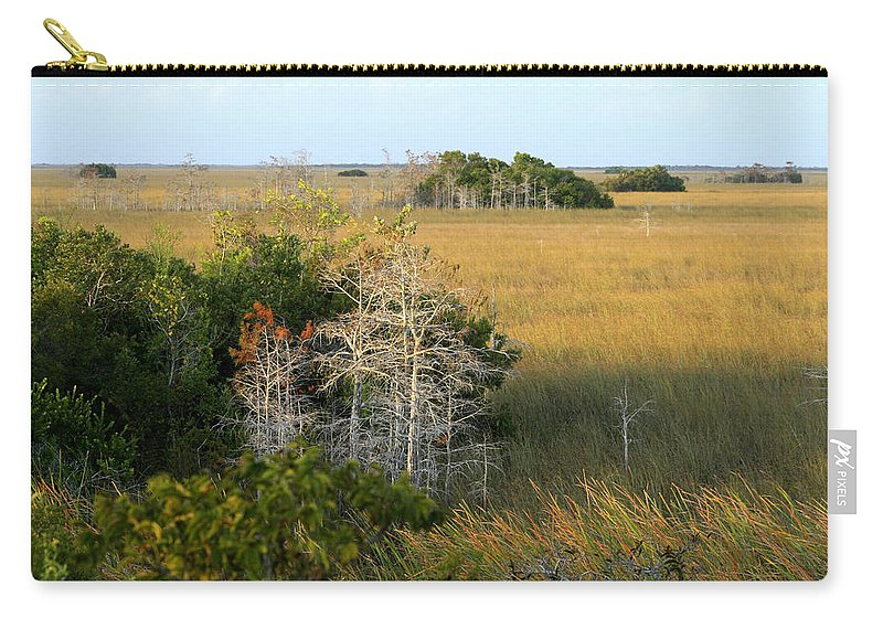 Florida Carry-all Pouch featuring the photograph Hammocks In The Everglades by Garry McMichael