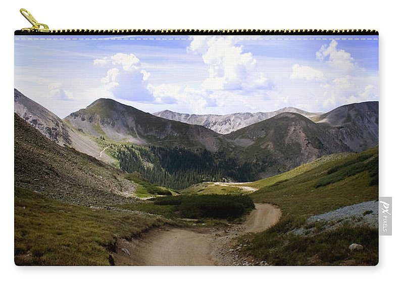 Pass Carry-all Pouch featuring the photograph Hancock Pass by Ellen Heaverlo