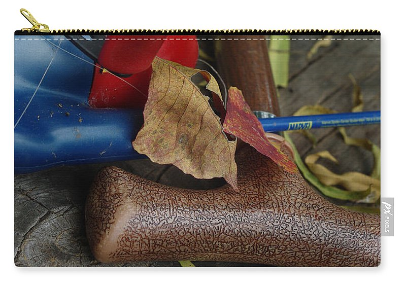 Angling Carry-all Pouch featuring the photograph Handled With Care by Peter Piatt