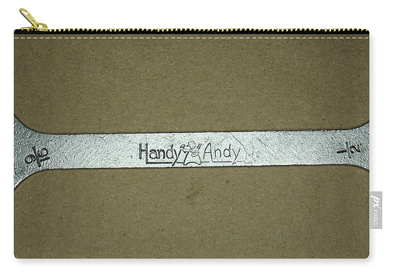 Handy Andy Wrench Carry-all Pouch featuring the photograph Handy Andy Wrench by Ernie Echols
