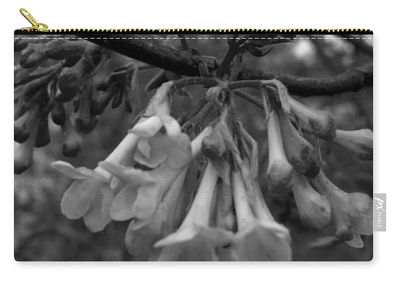 Flower Carry-all Pouch featuring the photograph Hangin Bells by Image-in Photoart
