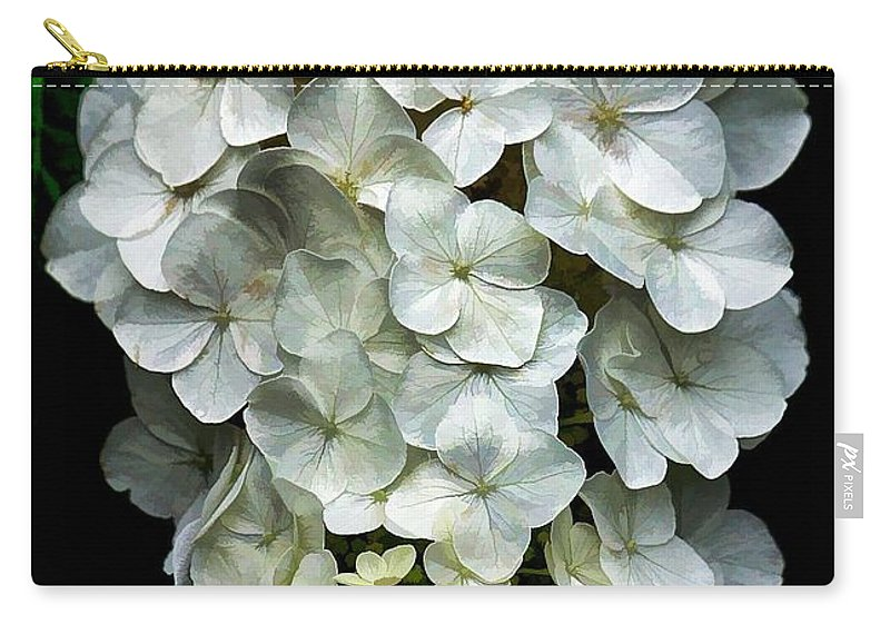 Floral Carry-all Pouch featuring the photograph Hanging Around by Joyce Baldassarre