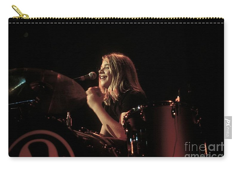 Drummer Carry-all Pouch featuring the photograph Hanson by Concert Photos
