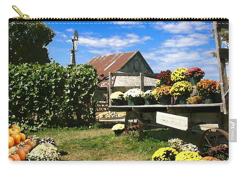 Farm Carry-all Pouch featuring the photograph Happy Thanksgiving 2013 by Steve Karol