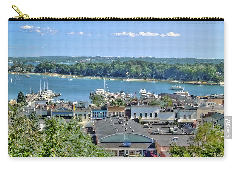 Lake Carry-all Pouch featuring the photograph Harbor Springs Michigan by Bill Gallagher