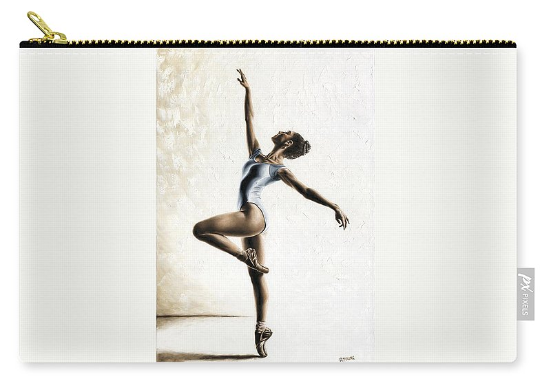 Dance Carry-all Pouch featuring the painting Harmony and Light by Richard Young