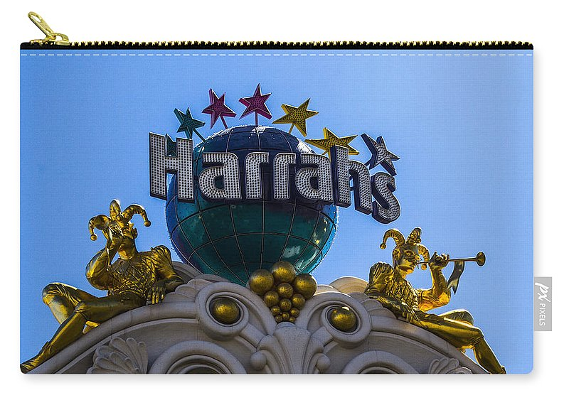 Nevada Carry-all Pouch featuring the photograph Harrahs by Angus Hooper Iii